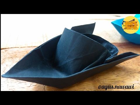 Cara Membuat Origami Bunga Teratai | Water Lily | Cara Membuat ... | 360x480