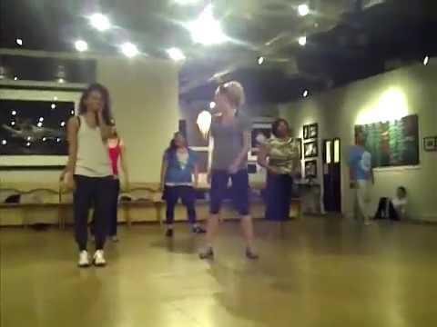 Kat Graham, Candice Accola dance filmed by Nina Dobrev TVD