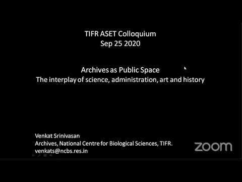 Archives As Public Space: The Interplay Of Science, Administration, Art And History