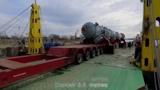 Ренийский порт перегрузил абсорбер для Мозырского НПЗ