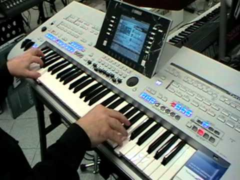 lenzotti demo yamaha tyros 4 parte 2 5 youtube. Black Bedroom Furniture Sets. Home Design Ideas