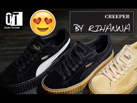 c41598cf402 Tênis Creeper - Fenty Puma By Rihanna - YouTube