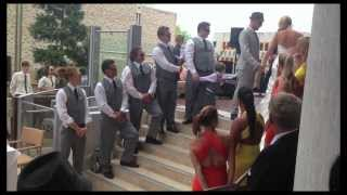 Best Wedding Song Ever - These Arms of Mine - Groom Sings to Bride