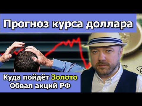 Обзор рынка акций. Обвал. Байден против Золота. Прогноз курса доллара рубля. Кречетов - инвестиции.