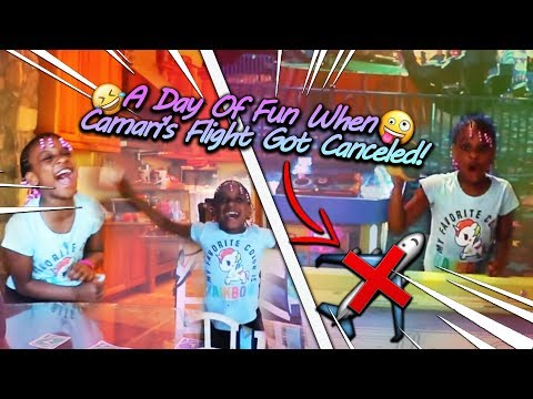 Surprised My Kids With A Day Of Fun When Camari's Flight Got Canceled!