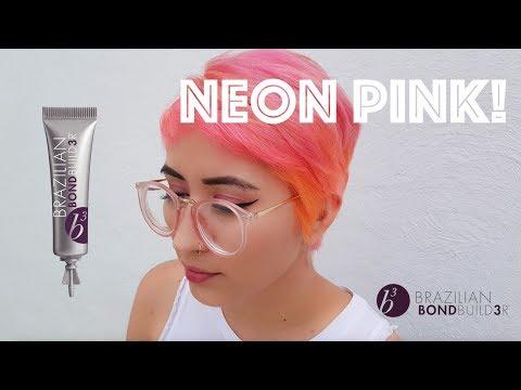 Neon Pink con b3 Brazilian Bond Builder México en Español