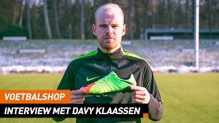 Voetbalshop | Interview met Davy Klaassen x Hypervenom 3