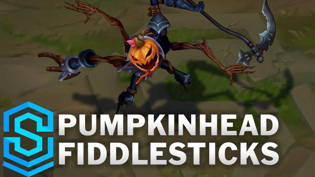 Pumpkinhead Fiddlesticks (2020) Skin Spotlight - League of Legends