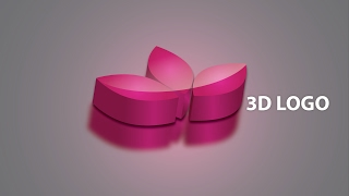 Illustrator 3D logo tutorial adobe CC