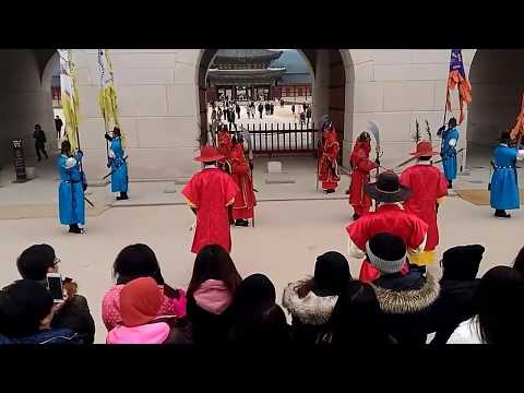 Geongbukong Palace Royal Guard Post Changing