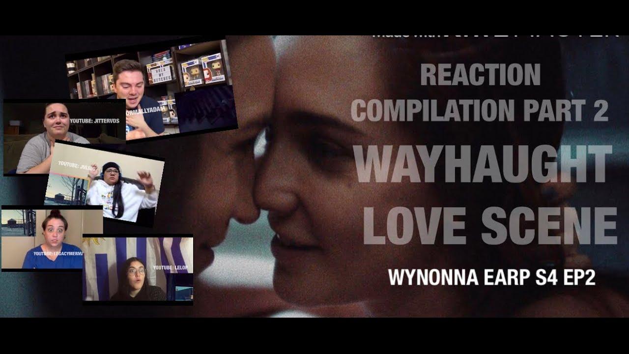 "Download REACTION COMPILATION (Part 2)// ""WayHaught Love Scene""Wynonna Earp S4 Ep2"