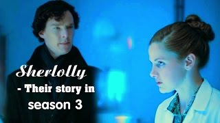 Sherlock & Molly - Their story in season 3   Queen of Mind Palace [Engsub] Sherlolly