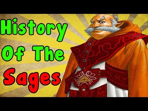 The History Of The Seven Sages (Zelda Ocarina Of Time)