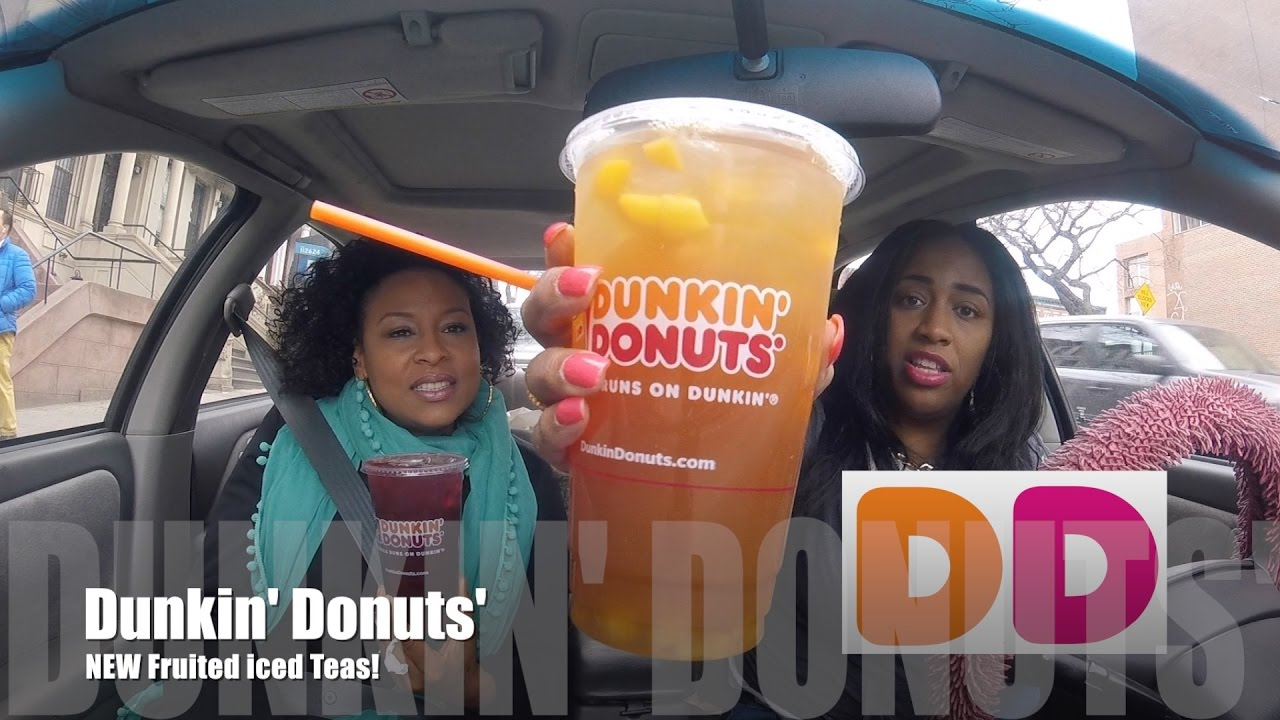Dunkin Donuts New Fruited Iced Teas On Lets Get Greedy 121