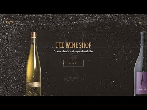 The Wine Shop Concept | Responsive Content Slider | HTML, CSS & JAVASCRIPT (GREENSOCK)