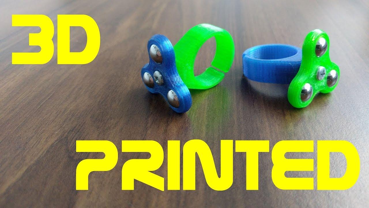 Plastic Fidget Ring