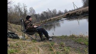 РЫБАЛКА НА ПОПЛАВОК с маховой удочкой Ловля проводку на малой реке