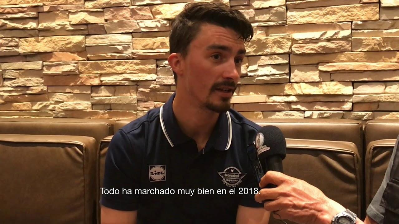Tour Colombia 2019 Entrevista Exclusiva Con Julian Alaphilippe Youtube