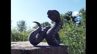 Скульптура дракон,часть 2. Резьба по дереву(Средства на развитие канала принимаются на карту Сбербанка, № карты 4276020013514481(Visa Classic) (карта на Викторию)..., 2015-07-24T13:28:05.000Z)