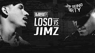 Video KOTD - Rap Battle - Loso vs Jimz | #BO7 download MP3, 3GP, MP4, WEBM, AVI, FLV Agustus 2018