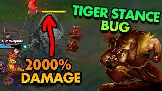 GAMEBREAKING UDYR TIGER STANCE BUG! TIGER STANCE 2000% MORE DAMAGE!