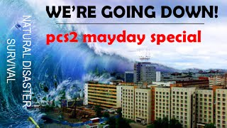 WE'RE GOING DOWN! Natural Disaster Survival on Roblox - Mayday Special