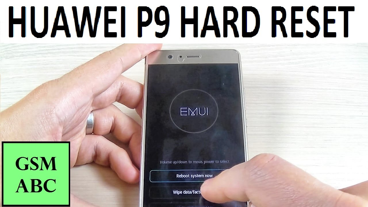 Huawei P9 Lite Hard Reset Youtube