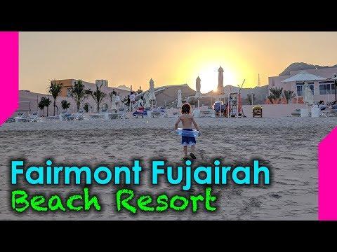 Weekend at the Fairmont Fujairah Beach Resort