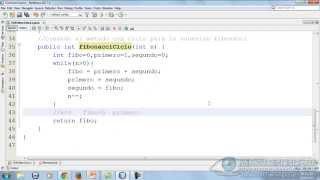 11 - Sucesión Fibonacci mediante Recursividad (EDDJava)