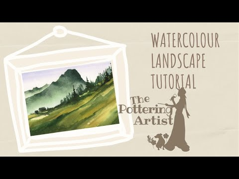Watercolor Landscape Tutorial