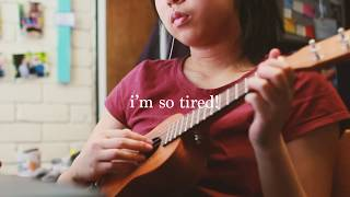 Gambar cover i'm so tired | lauv & troye sivan cover