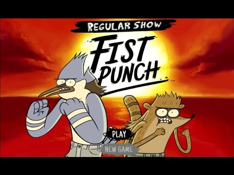 Regular Show – FIST PUNCH (Cartoon Network Games)