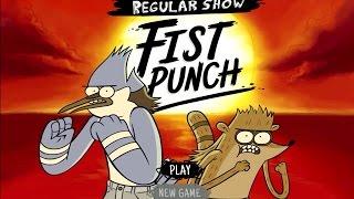 Regular Show - FIST PUNCH (Cartoon Network Games)