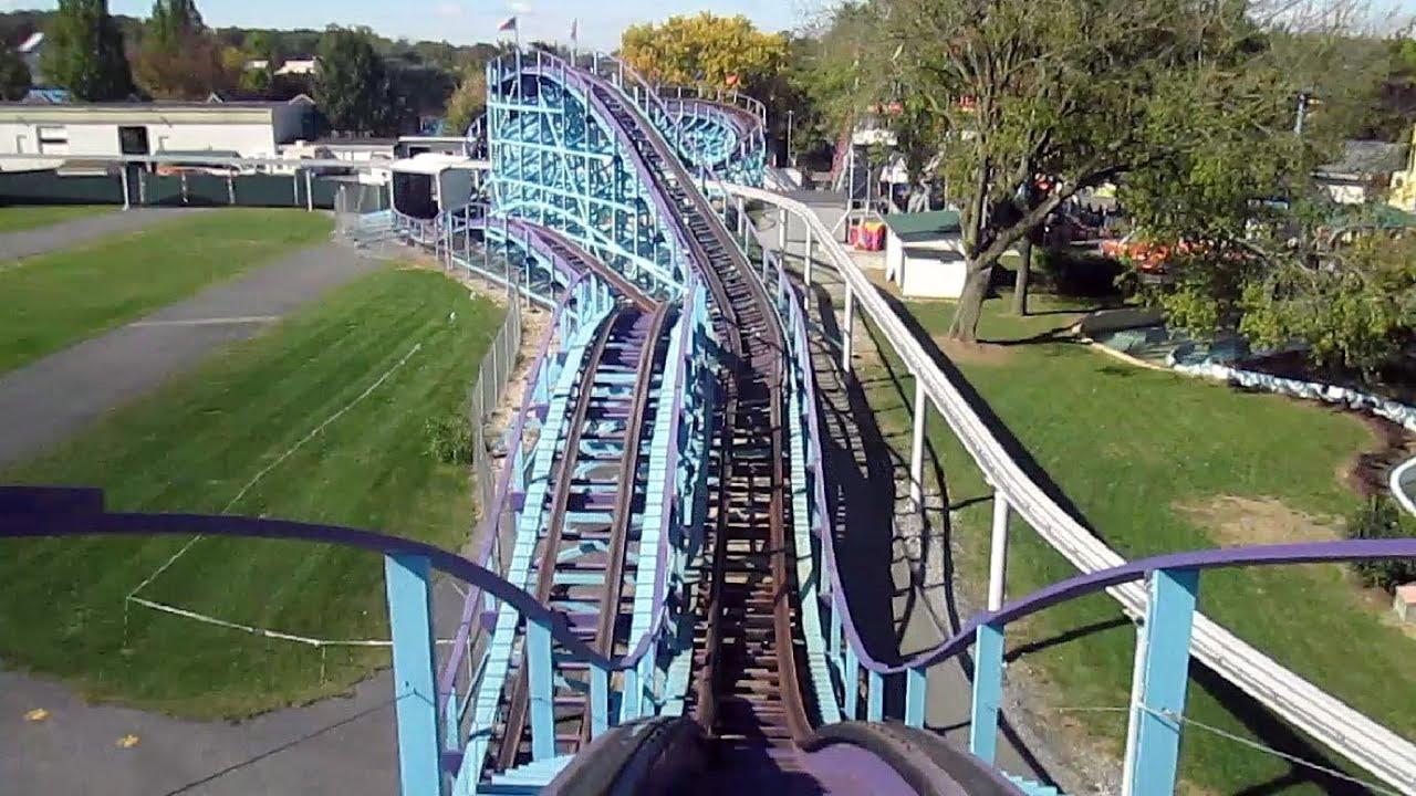 Kingdom Coaster front seat on-ride HD POV Dutch Wonderland ...