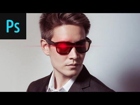 Design A Glowing Eye Effect Photoshop Tutorial