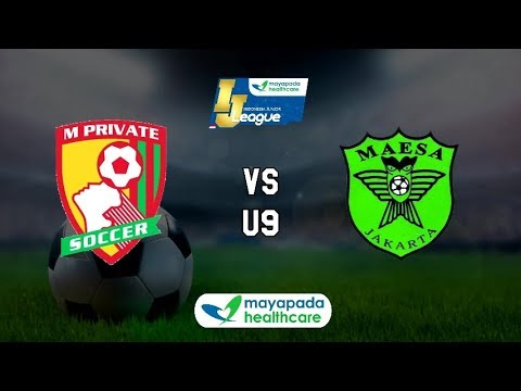 M'Private Soccer vs Maesa Cijantung [Indonesia Junior Mayapada League 2018] [U9] 1-4-2018