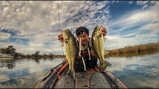 A-RIG On The DELTA (late Fall/early Winter Bass Fishing)