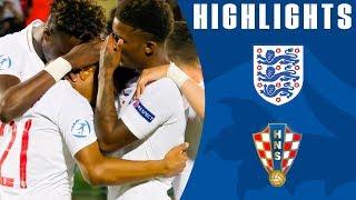 England U21 3-3 Croatia U21 | Croatia Deny Young Lions | U21 Euro Championship | Official Highlights