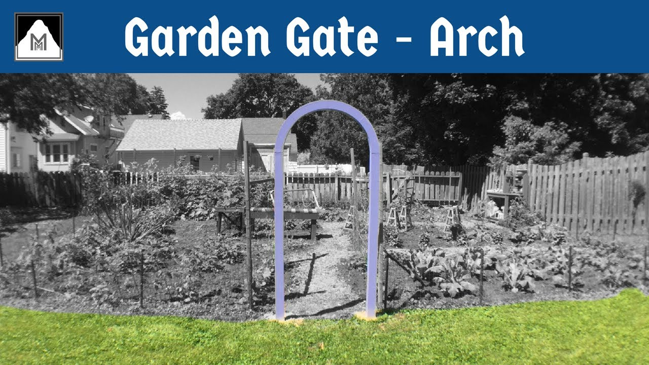 How to Build Garden Gate | Part 1 The Arch & How to Build Garden Gate | Part 1: The Arch - YouTube
