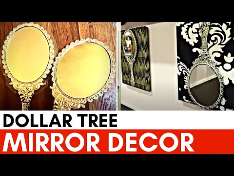 DIY : How to make wall art with dollar store mirrors | Shayla Reaves | Let's Craft (2019)