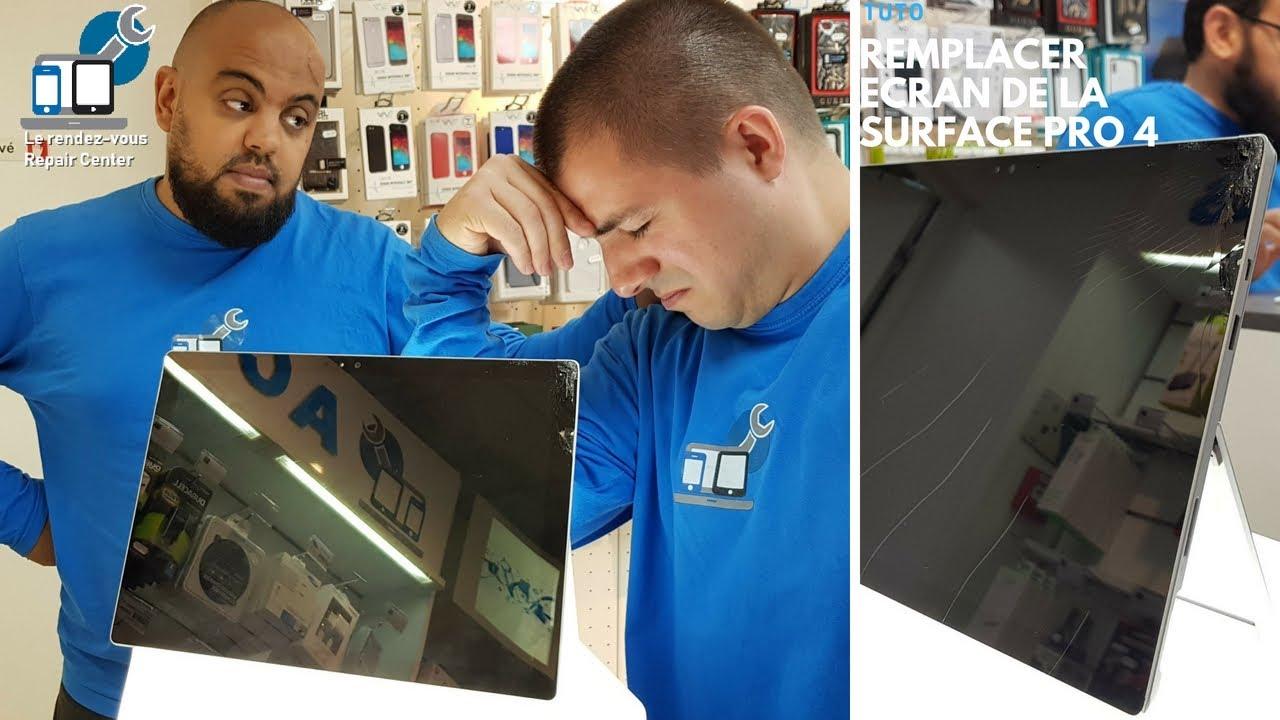 tuto microsoft surface pro 4 changer l ecran