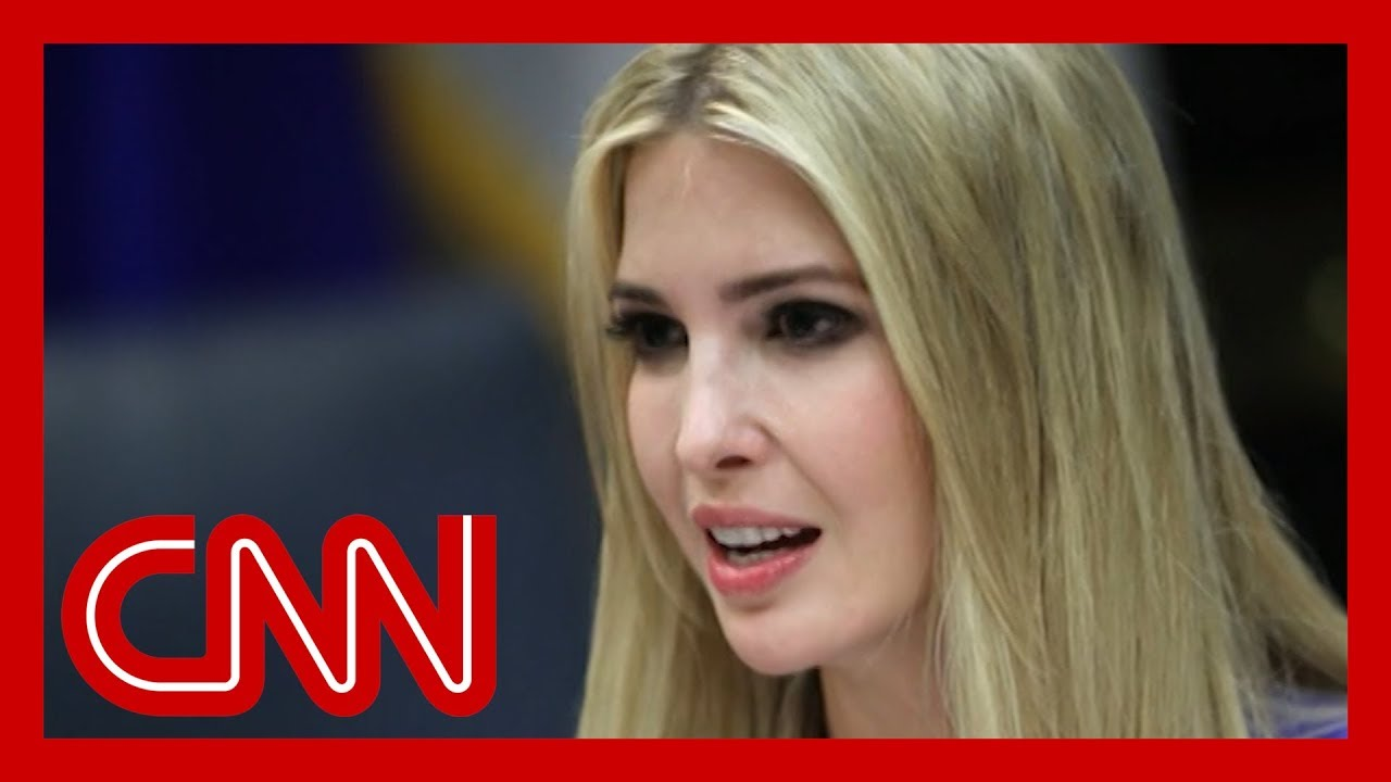 Opinion: Ivanka Trump's tone-deaf Tuesday - CNN