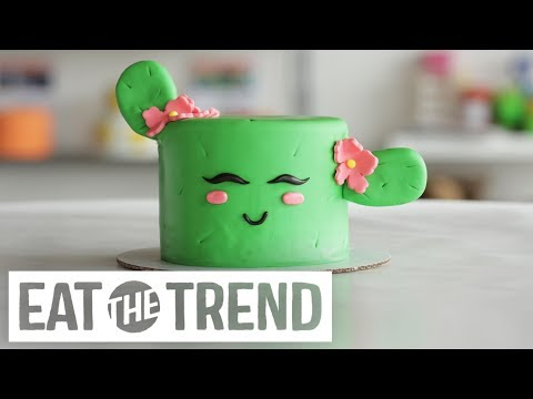 How to Make a Cactus Cake | Eat the Trend