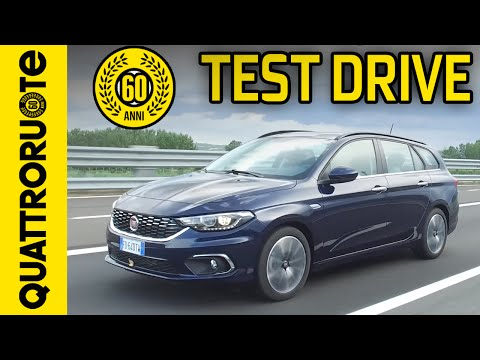 Fiat Tipo Station Wagon 1.6 MJT 2016 Test Drive