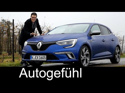 Renault Megane GT FULL REVIEW test driven all-new GT & Bose Edition 2016 neuer - Autogefühl