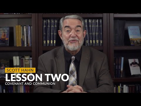 Scott Hahn discusses Lesson 2 of the Bible and the Mass