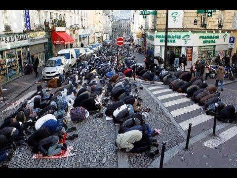 فرنسا تحظر على المسلمين الصلاة في الشوارع France forbids Muslims to pray in the streets