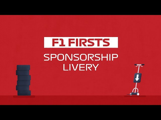 The First Sponsored Liveries In F1 | F1 Firsts