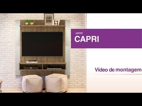 Como Montar - Painel para TV Capri - Linea Brasil