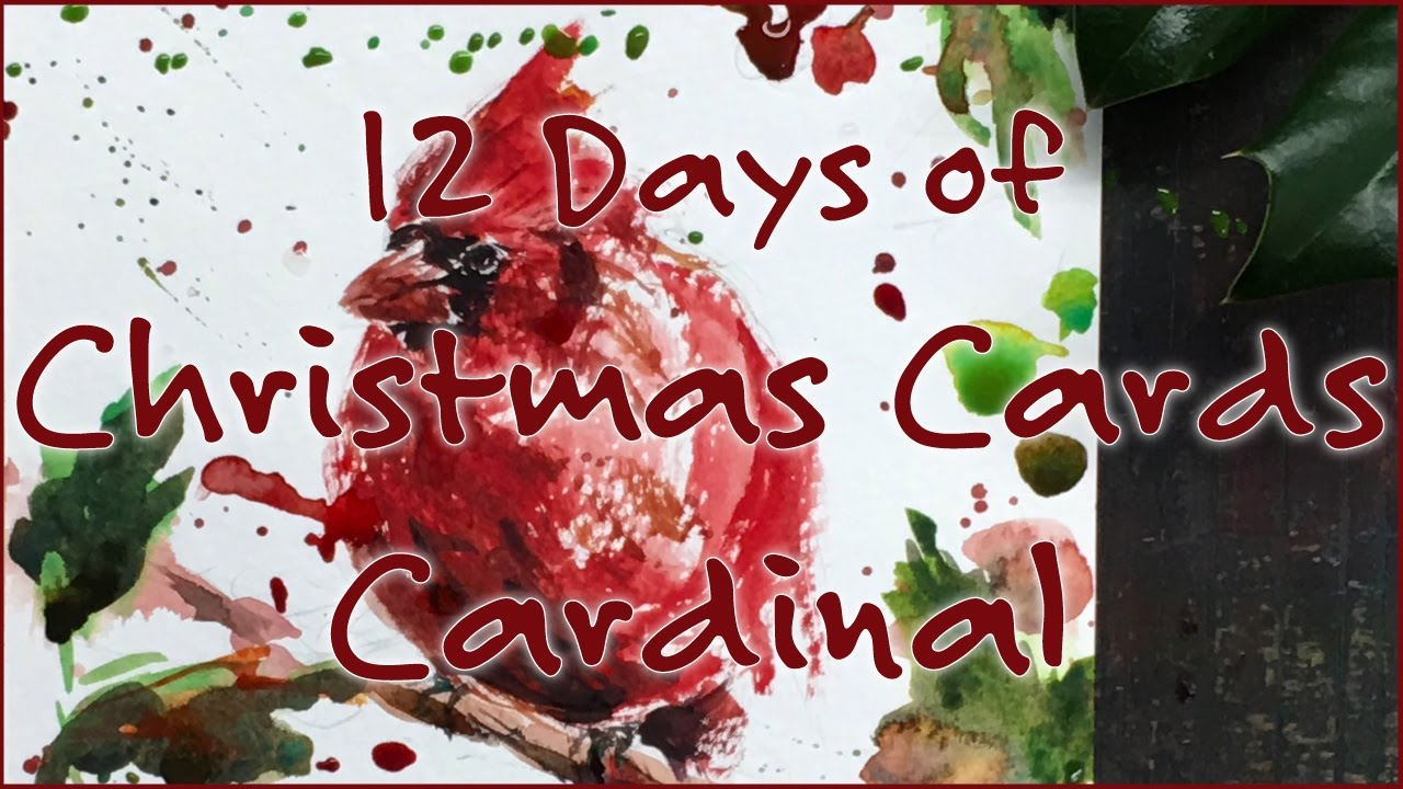 12 days of christmas cards cardinal 4k youtube m4hsunfo
